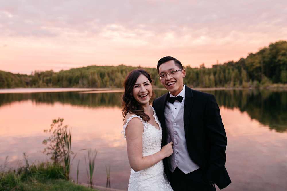 private lake intimate wedding toronto
