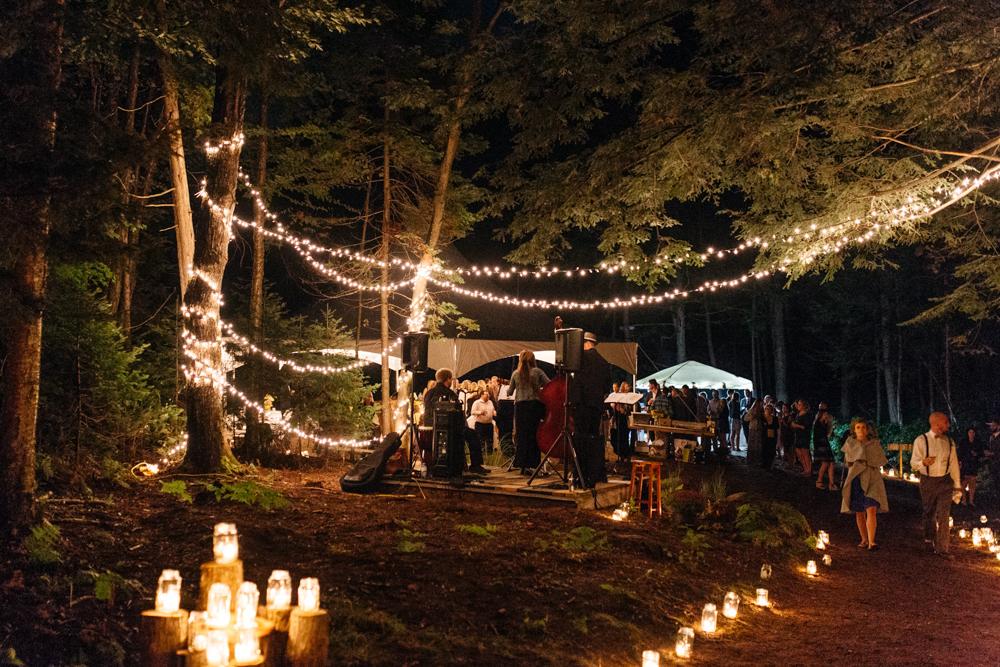magical forest wedding muskoka