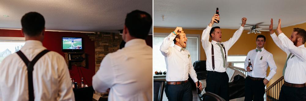 fun groomsmen photography