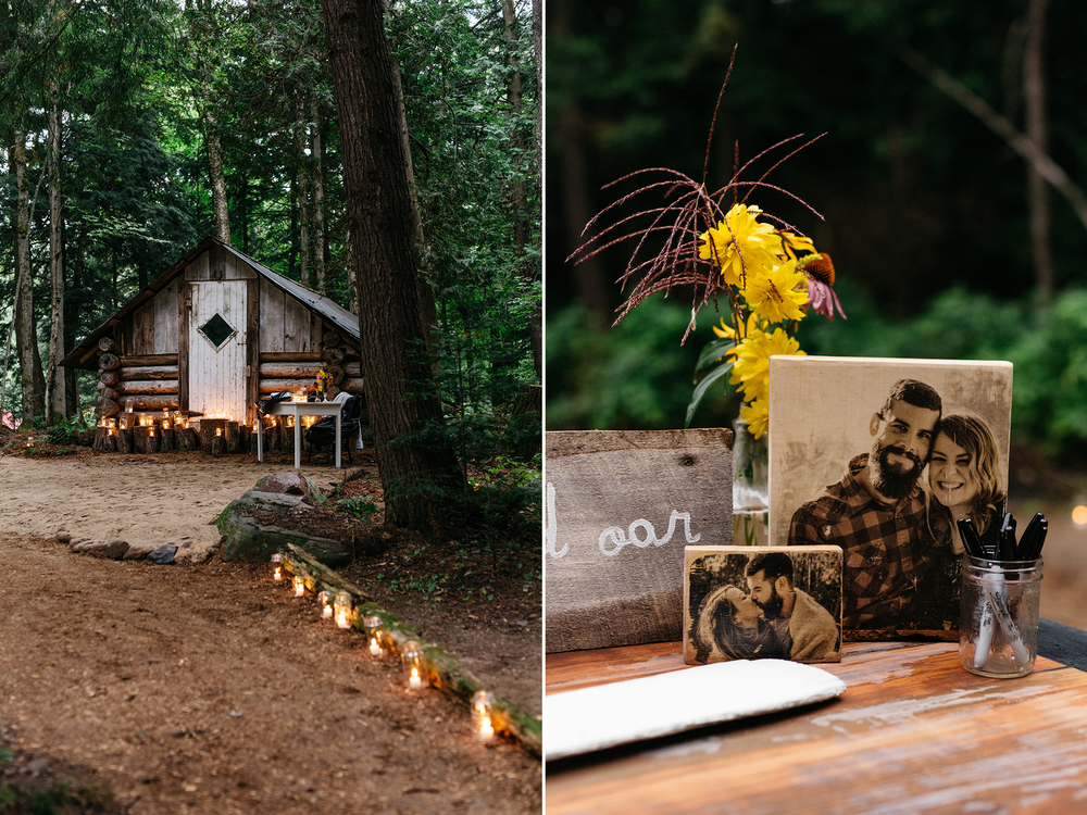 wedding detail inspiration intimate forest