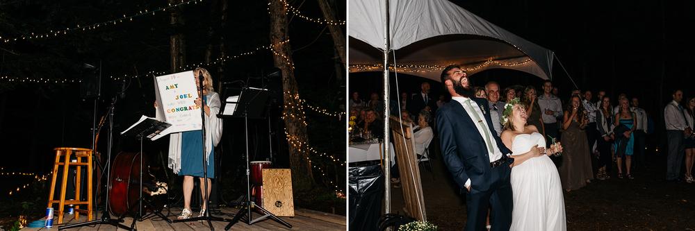 authentic wedding reception fun
