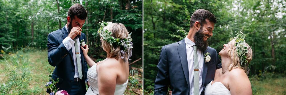 rustic wedding muskoka photographer