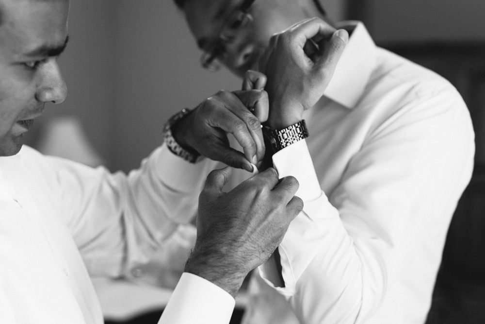 Groom Prep Photography Intimate Wedding