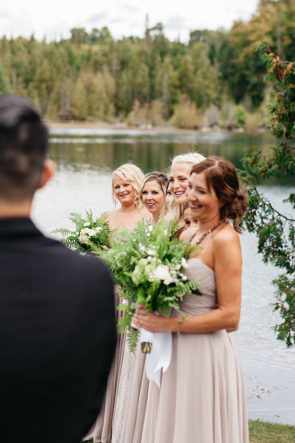 Lakeside Wedding Ceremony Photography