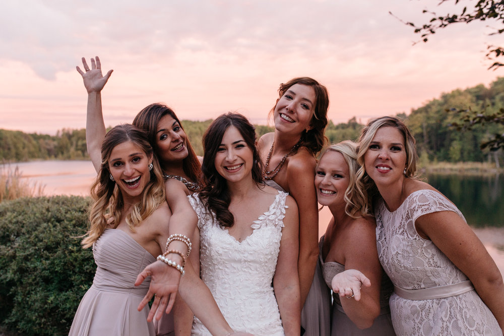 Fun Bridesmaids Photography Wedding