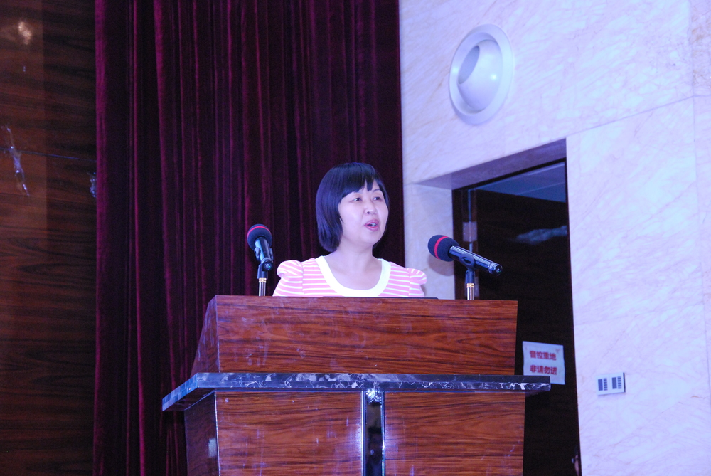 Prof. Jiang Lizhen, China Building Materials Academy, Beijing