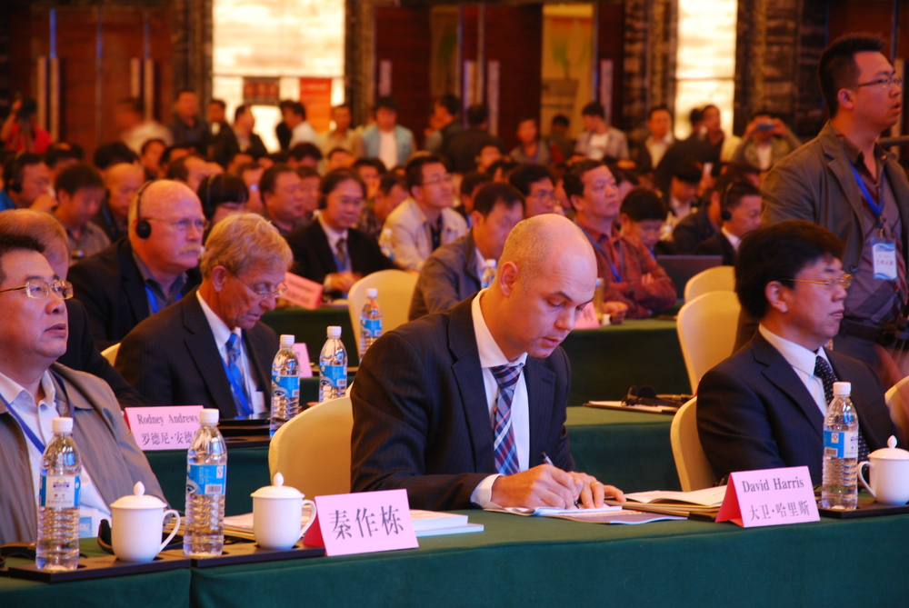 Coal Ash Asia 2015 attendees listen to presentations by international industry leaders.
