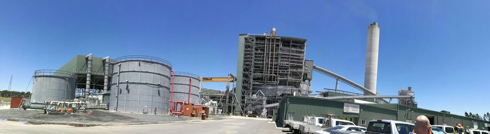 A photo from the first stop on our CCP exchange tour. This facility is Millmerran Power Station, Co-located with Independent FLY Ash Brokers. Click here to review a summary of the visit.