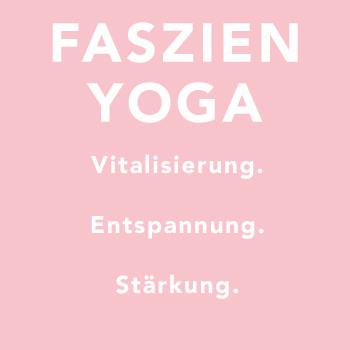 FASZIEN YOGA | 60 min Mit speziellen Übungen aus dem Yin Yoga im Wechsel mit der Blackroll massierst du das Fasziennetz, regst den Stoffwechsel an und sorgst dafür, dass Schlacke und Gifte abtransportiert werden. So wird mehr Flüssigkeit durch das Gewebe gepresst. Das verringert Schmerzen. Verklebungen lösen sich und die Versorgung des Gewebes verbessert sich. Durch die Kombination aus Dehnung und mechanischem Reiz erreichst du eine neue Dimension der Entspannung.