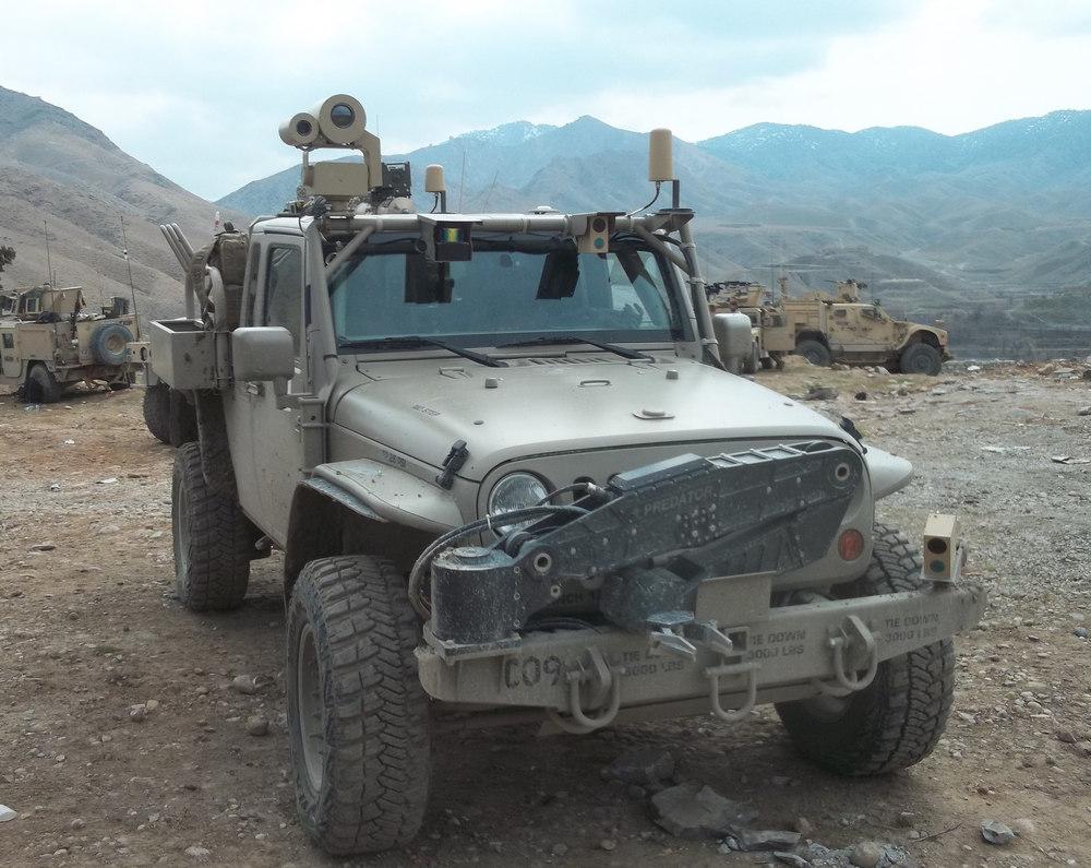 Hendrick Commando Jeep GMV