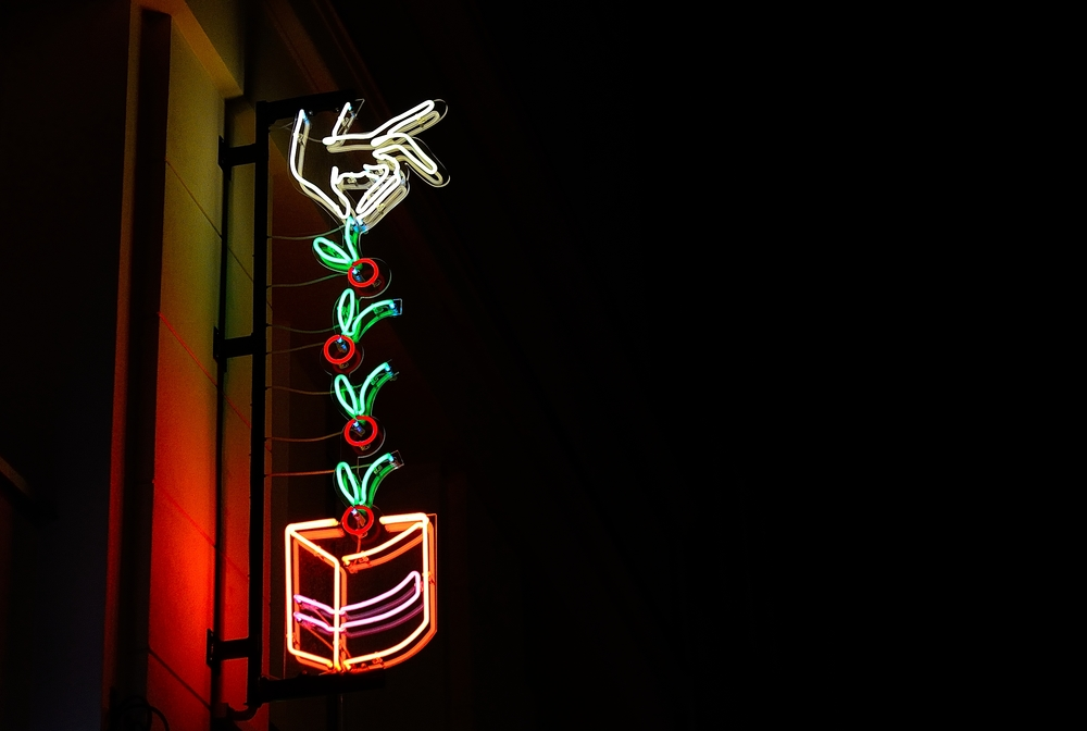 The neon on Mokotowska Street in Warsaw (photo: Jacek Malarski)
