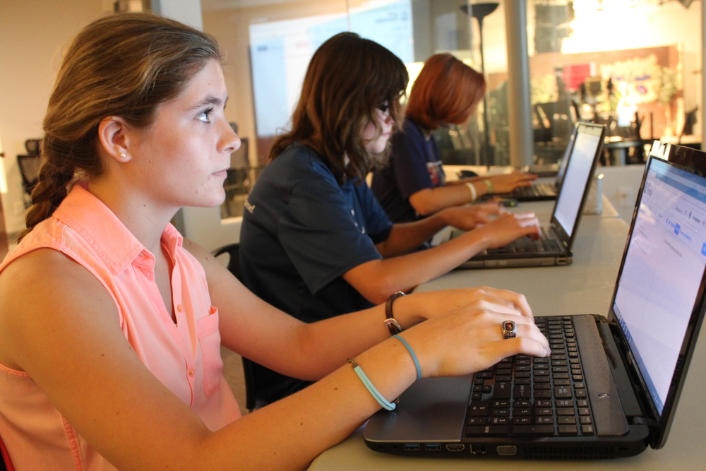 Girls of Code in Tullahoma