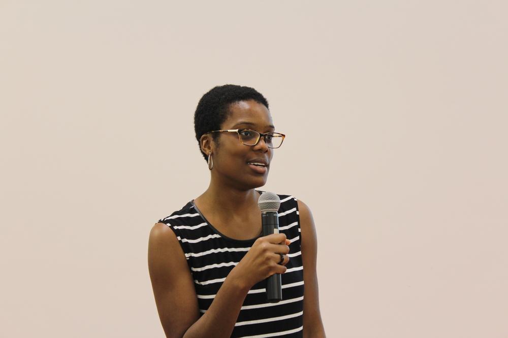 Seun speaking in Chattanooga