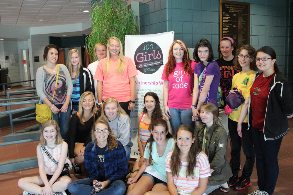 Group photo in Oak Ridge