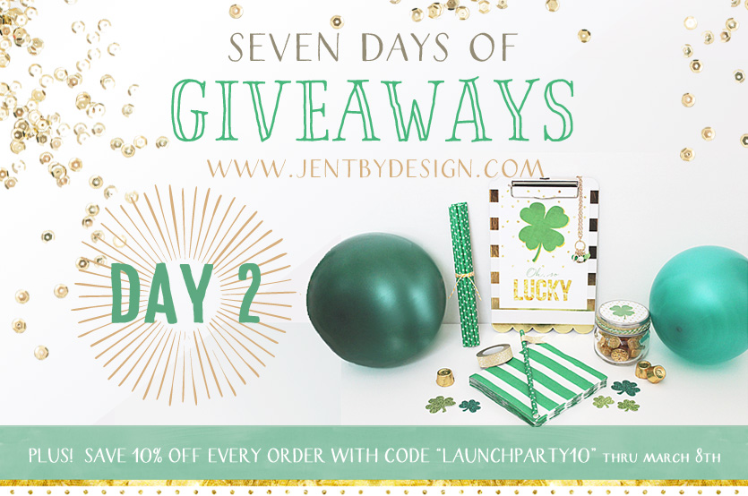 Jen T by Design Launch Party Giveaway