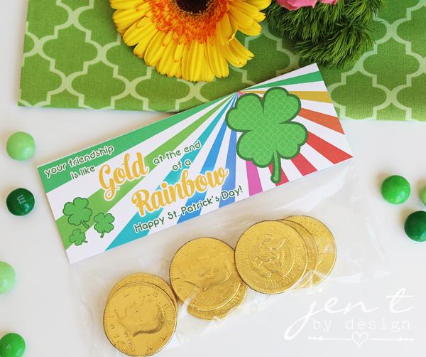 St. Patrick's Day Free Printables JenTbyDesign.com