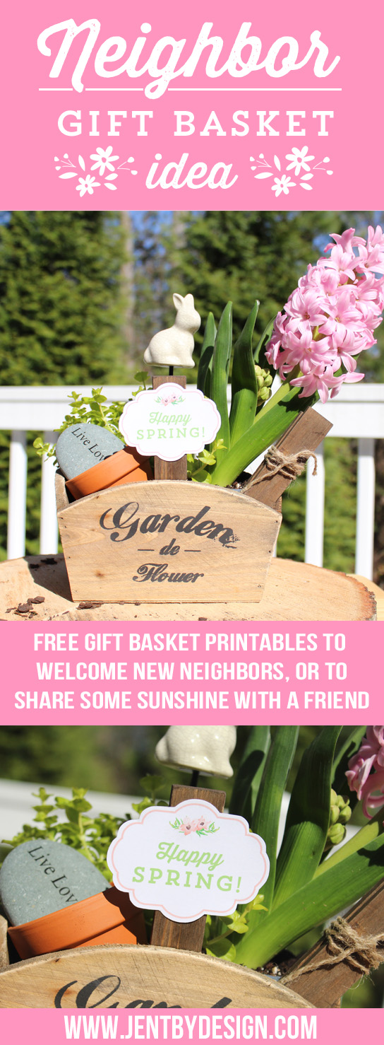 Neighbor Gift Basket Idea