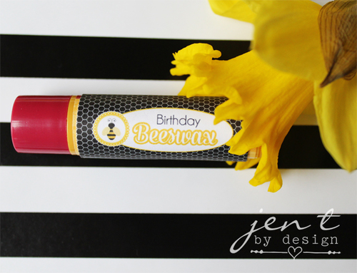 Bumble Bee Party Favor Wrappers