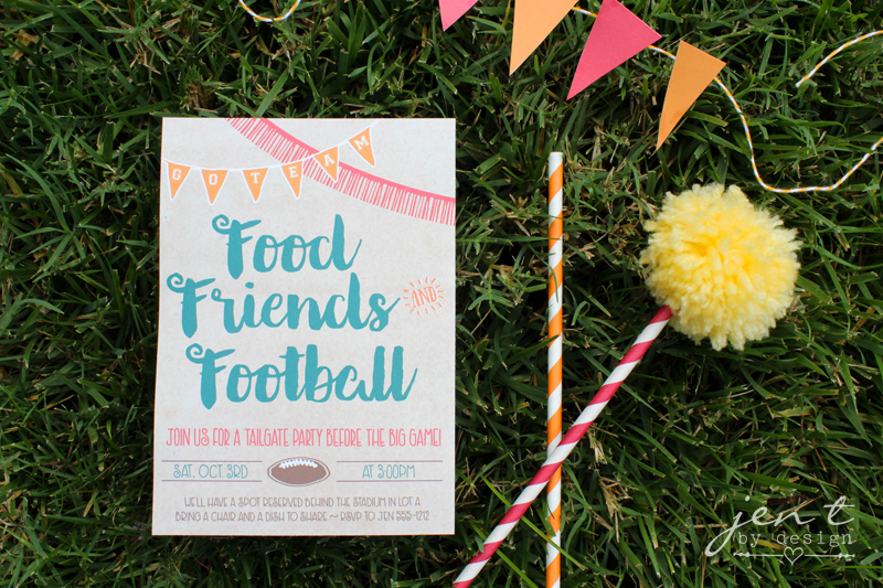 Football Tailgate Invitations