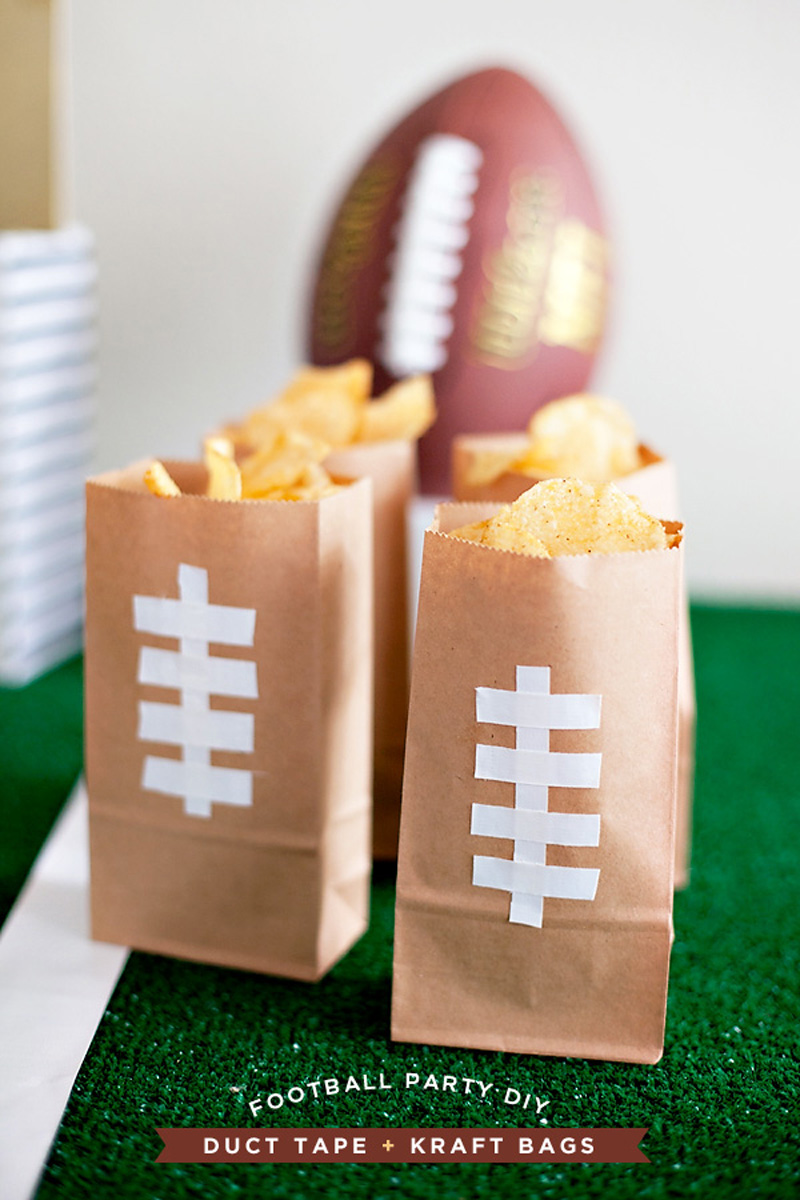 Football Tailgate Ideas - Football Snacks
