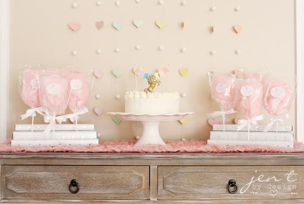 Pastel Rainbow Cake Topper Banner