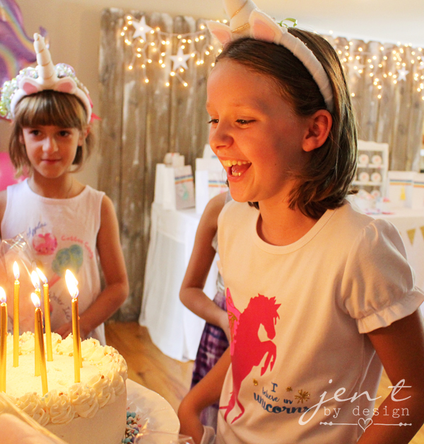 Unicorn Birthday Party Ideas - JenTbyDesign.com