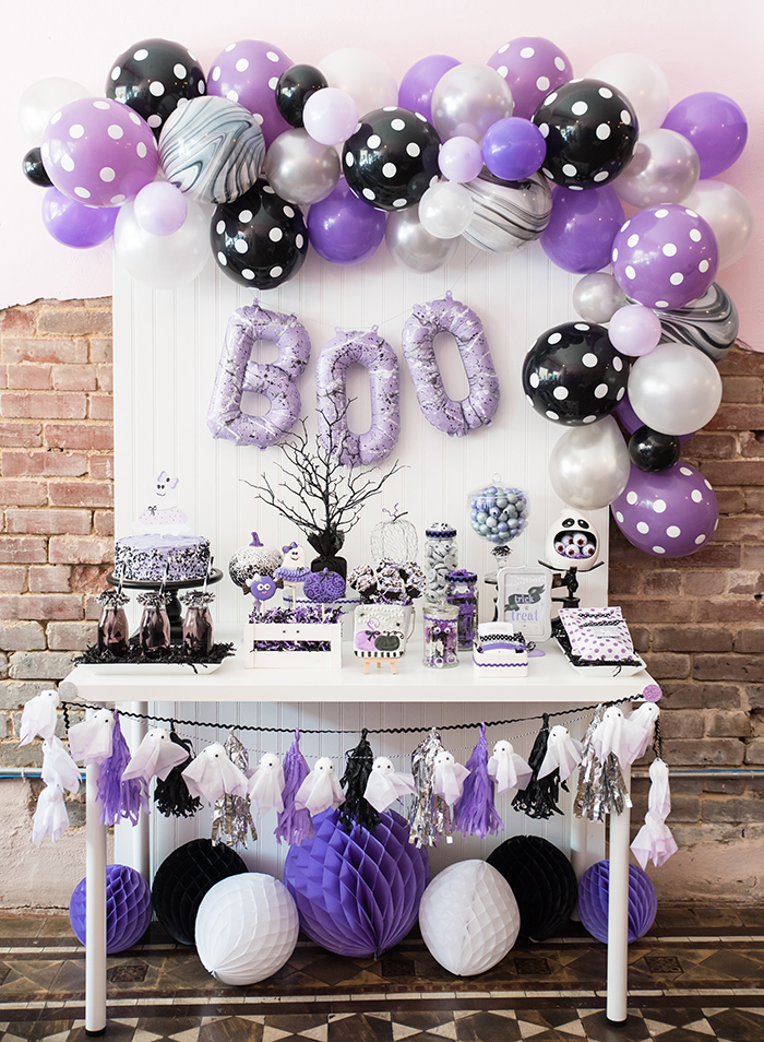 Boo-tiful Ball:  Girly Halloween Boo Bash