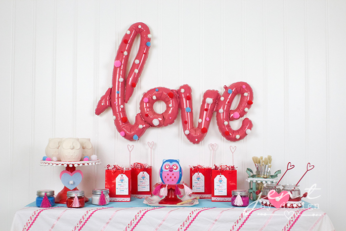 Valentine's Day Party Idea - Owl Ya Need is Love!