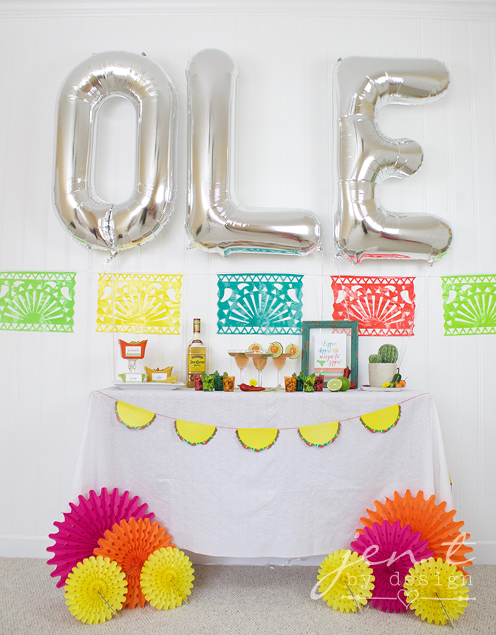 Margarita Fiesta - Fiesta Party Ideas - JenTbyDesign