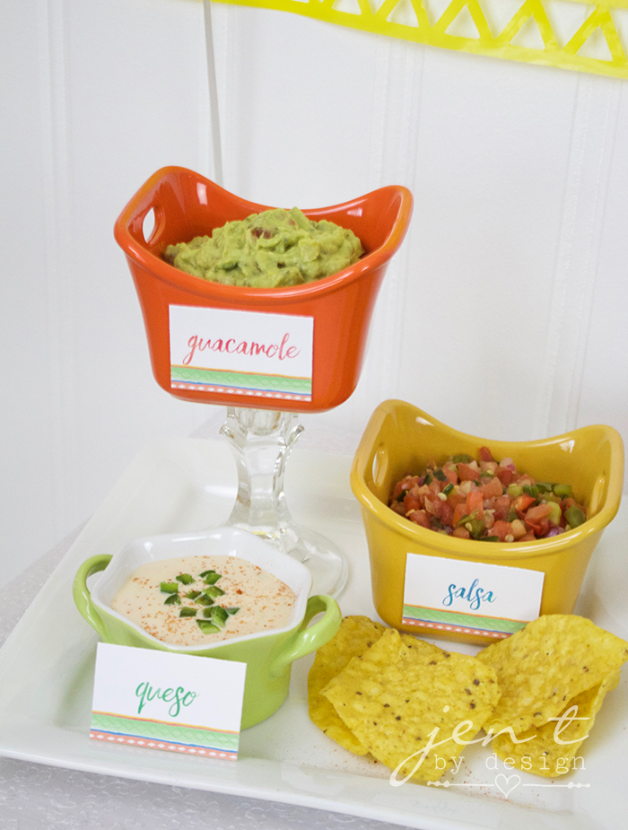 Margarita Fiesta - Fiesta Party Food - JenTbyDesign