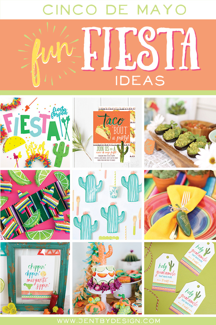 Cinco de Mayo Round-Up:  Fun Fiesta Ideas