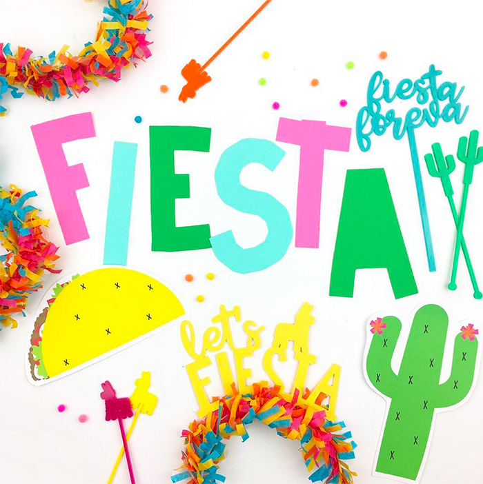Cinco de Mayo Fiesta Party Decor - Petite Party Studio
