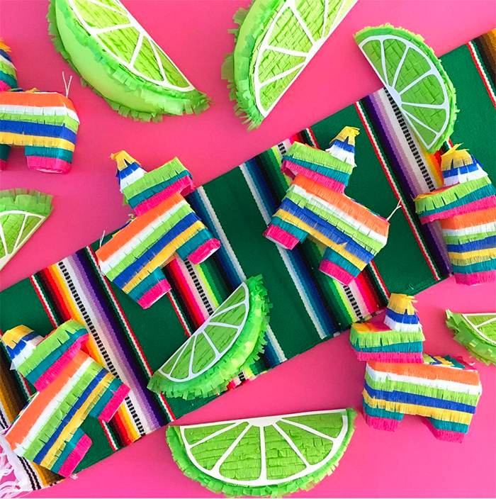 Cinco de Mayo Mini Pinatas - LulaFloraDesigns