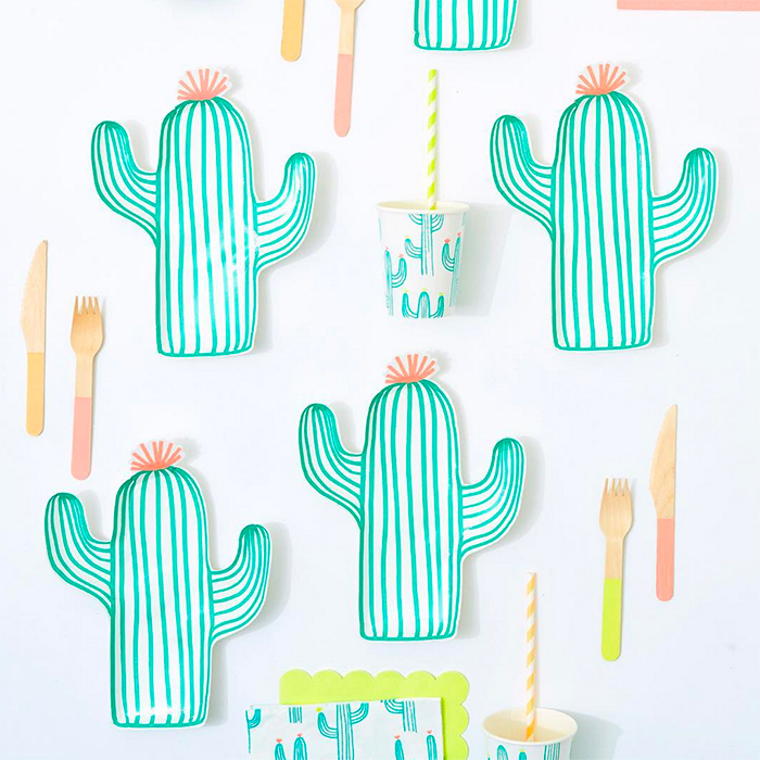 Cactus Plates and Party Goods - Meri Meri