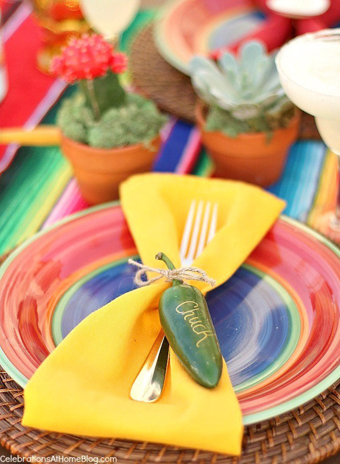 Cinco de Mayo Party Table Ideas - Celebrations at Home