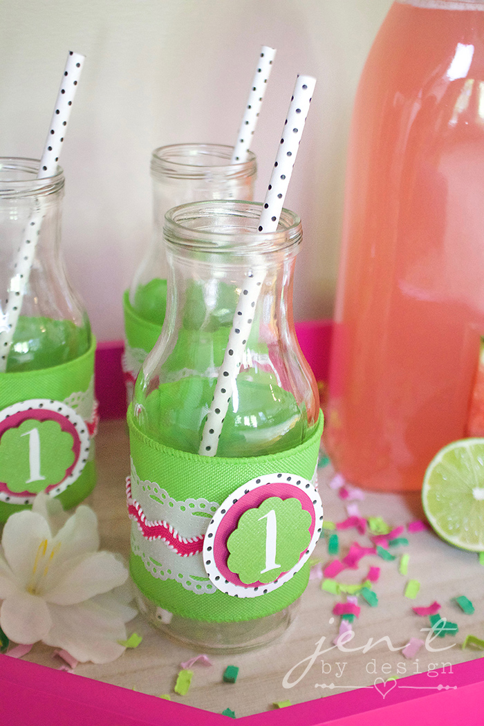 DIY Bottle Wraps Using a Cricut