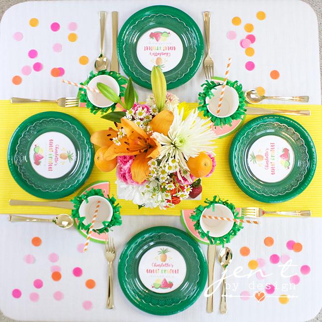 Tutti Frutti Party - JenTbyDesign.com