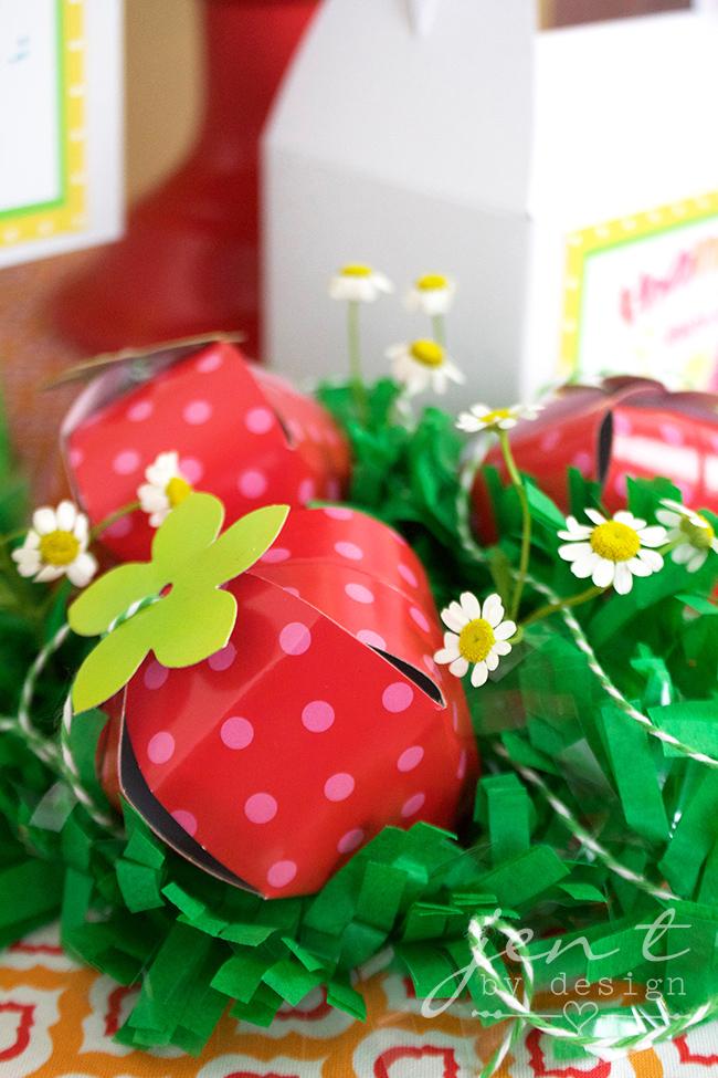 Tutti Frutti Party Favors - JenTbyDesign