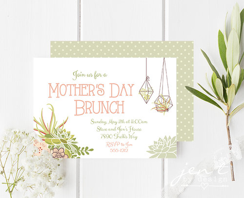 mother s day brunch invitations jen t by design