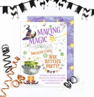 Halloween Party Invitations Jen T By Design