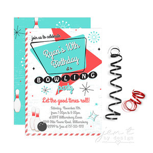 boys party invitations jen t by design