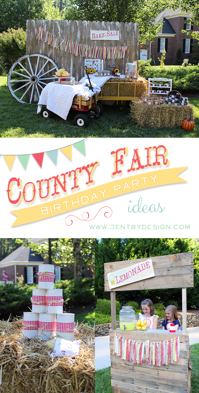 county fair birthday party part one u2014 jen t by design