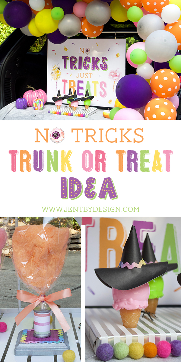 Trunk or Treat Decorating Idea No Tricks Just Treats.jpg