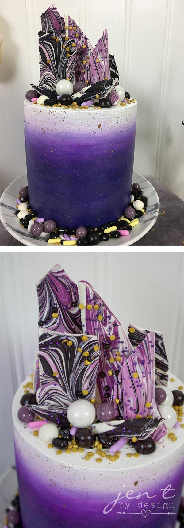 Bat Halloween Party - Halloween Cake - Jen T by Design.jpg