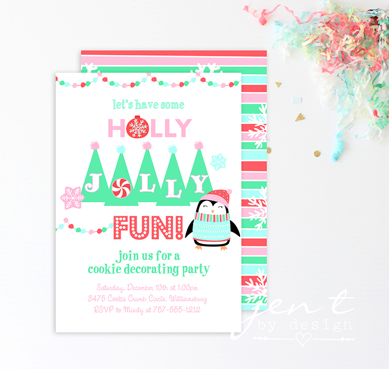 Kids Cookie Decorating Party Invitations - Jen T by Design.jpg