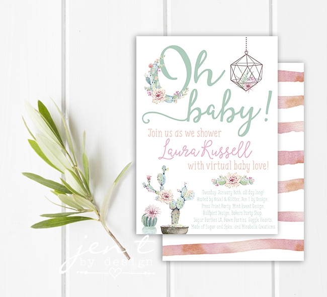 Succulent Baby Shower Invitation - Jen T by Design.jpg