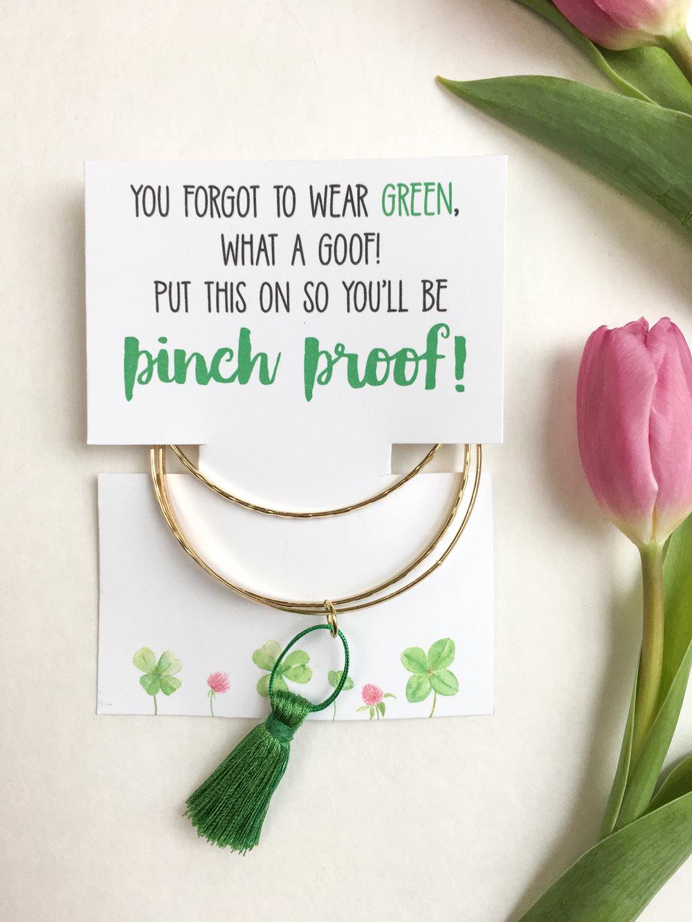 St. Patrick's Day DIY Bracelet 2
