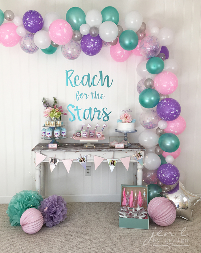 Celestial Graduation Party featuring Cricut, Martha Stewart and Michaels #ad, #CricutMarthaStewart, and Michaels #MadeWithMichaels #CricutMade #Cricut