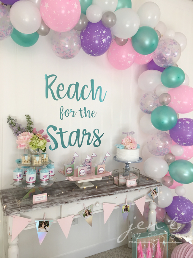 Celestial Graduation Party featuring Cricut, Martha Stewart and Michaels #ad #CricutMarthaStewart #MadeWithMichaels #CricutMade #Cricut 5.jpg