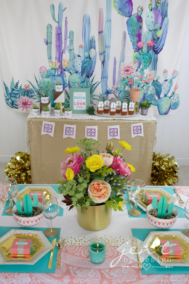 eb40ee156fb Succulent Bridal Shower featuring Cricut
